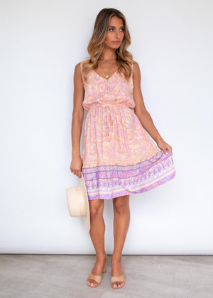 Prescott Swing Dress - Sherbet
