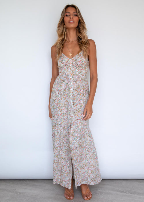Raleigh Maxi Dress - Jade Floral