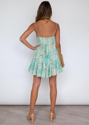 Sorella Swing Dress - Sage Vines