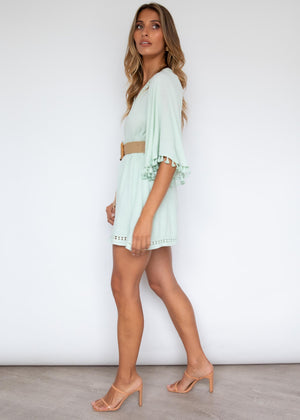 Forever Love Playsuit - Mint