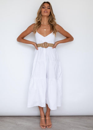 Rafiki Midi Dress - Off White