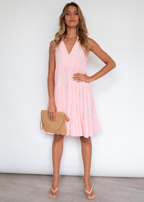 Quinlan Dress - Blush