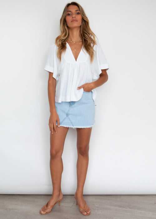 Tarin Blouse - Off White
