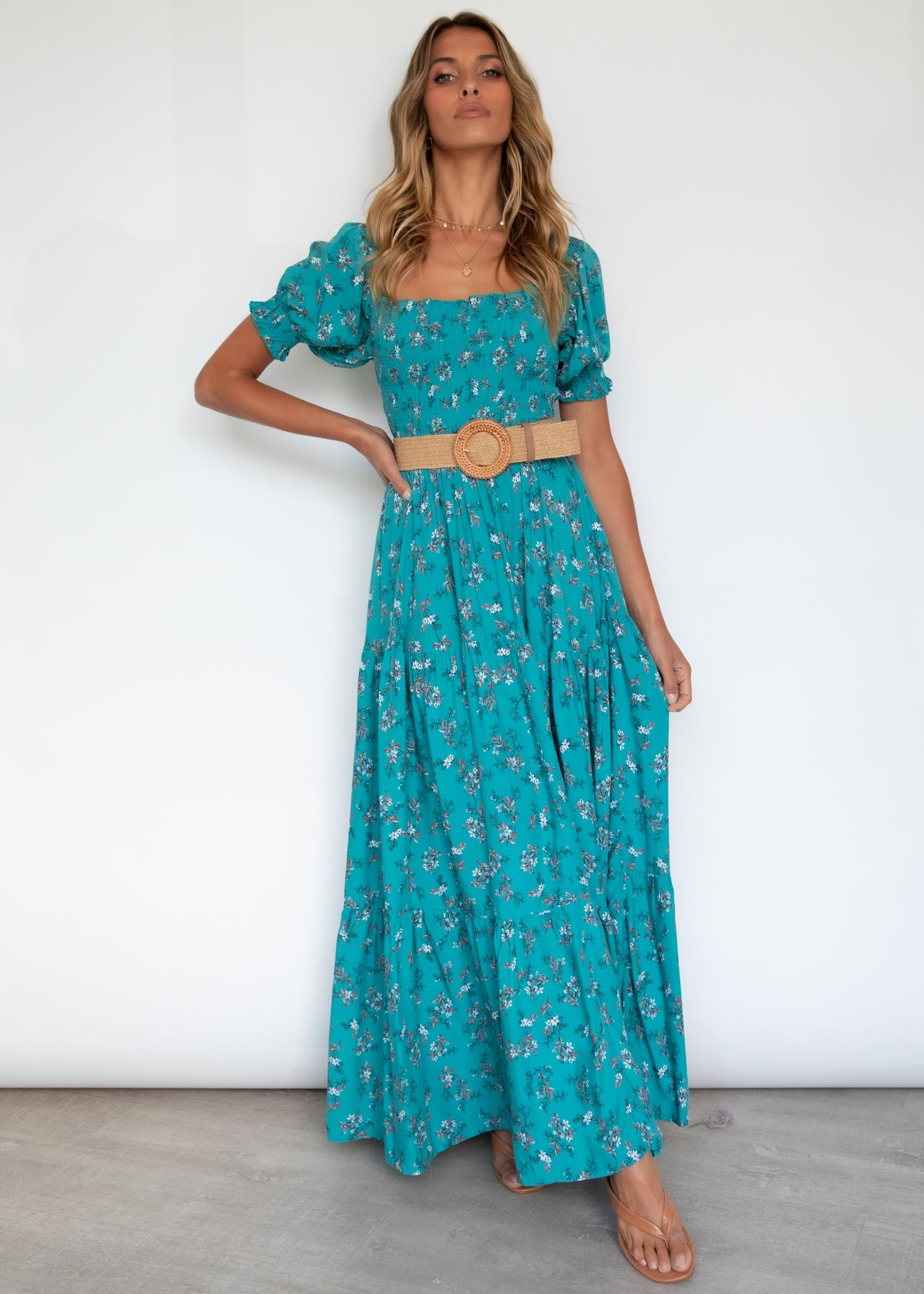 Claudette Maxi Dress - Ocean Eyes