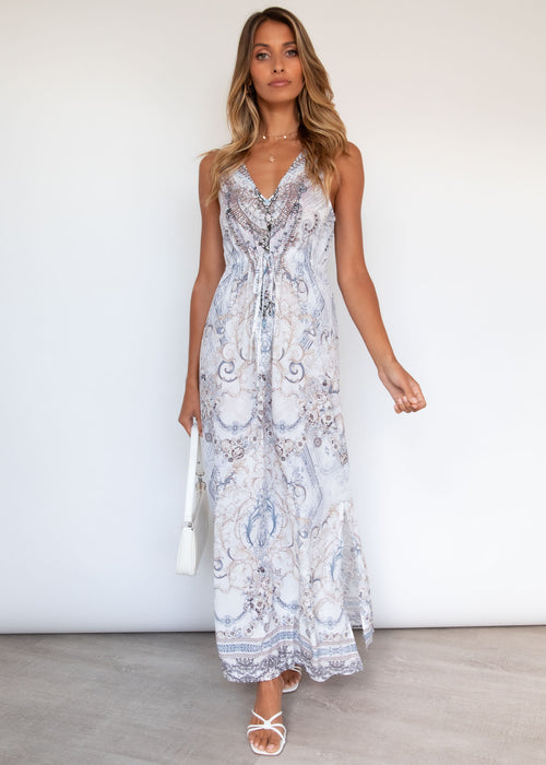 Wandering Mind Maxi Dress - Mizurio