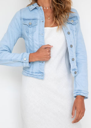 Tania Denim Jacket - Light Blue