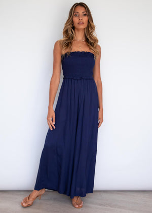 In The Sky Pantsuit - Navy