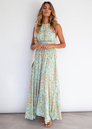 Break Of Dawn Maxi Dress - Aztec Summer