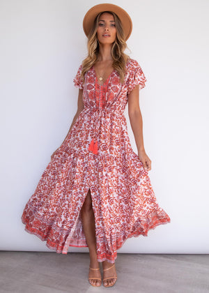 Love Affair Maxi Dress - Rose Garden