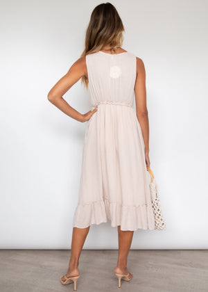Linnett Midi Dress - Beige