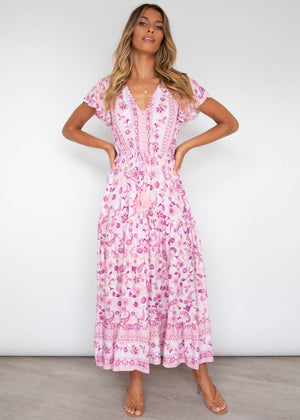 Love Affair Maxi Dress - Fairy Floss