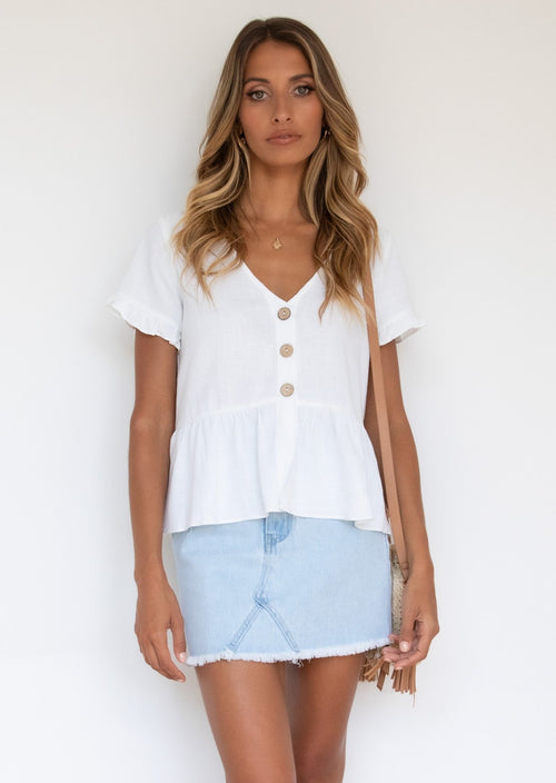 Anina Blouse - Off White