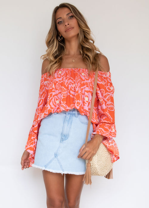 Sugar Night Off Shoulder Top - Lola