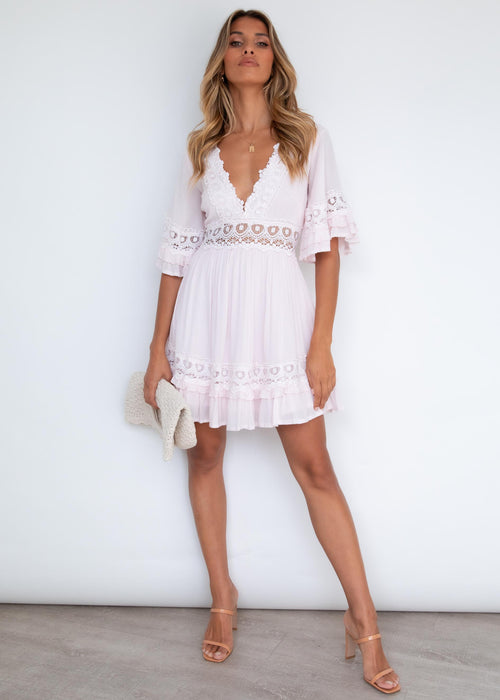 Love Language Dress - Blush