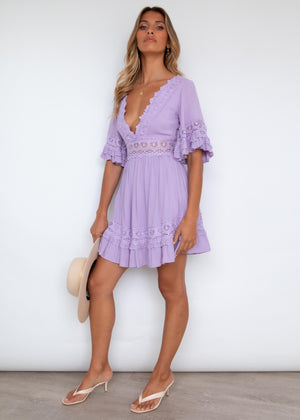 Love Language Dress - Lilac