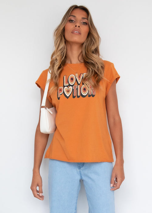 Love Potion Tee - Clay