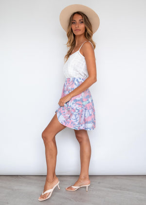 Cha Cha Mini Skirt - Sherbet