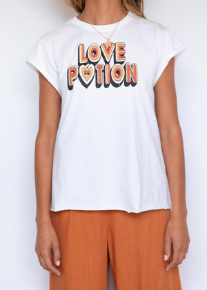 Love Potion Tee - White