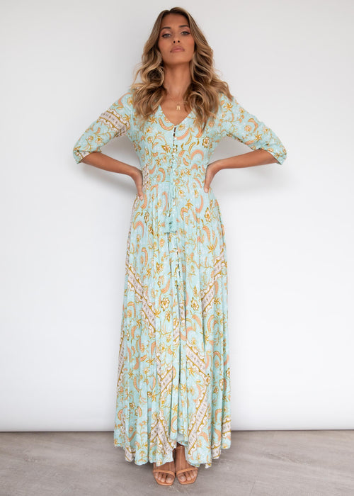 New Romantics Maxi Dress - Aztec Summer