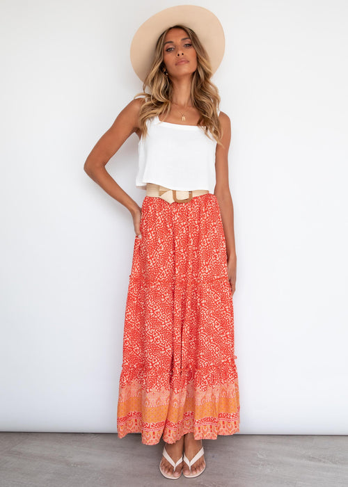 Trissie Maxi Skirt - Eve Sunrise