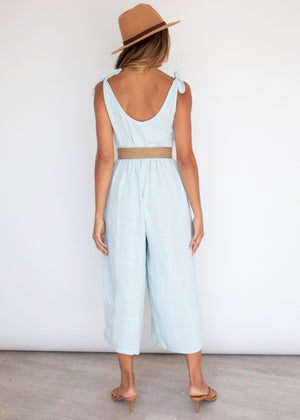 Good Intentions Pantsuit - Powder Blue