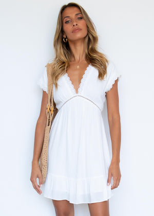 Emalee Dress - Off White