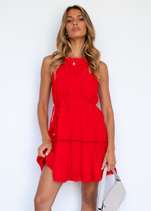 Jessamy Dress - Red