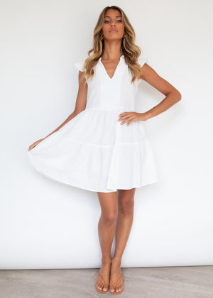 Micah Dress - Off White