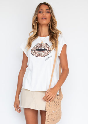 Bisous Tee - Off White