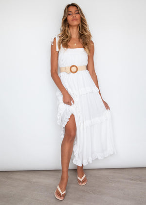 Juliana Maxi Dress - Off White