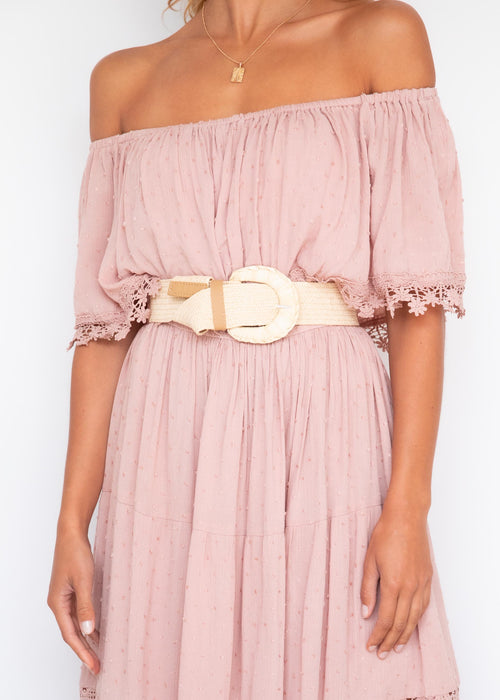 Annalee Maxi Dress - Blush