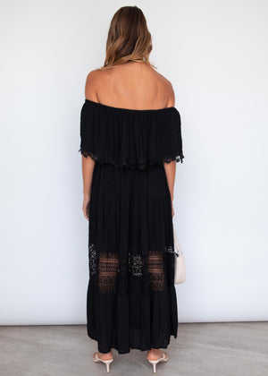 Annalee Maxi Dress - Black