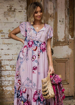 Valerie Maxi Dress - Dahlia