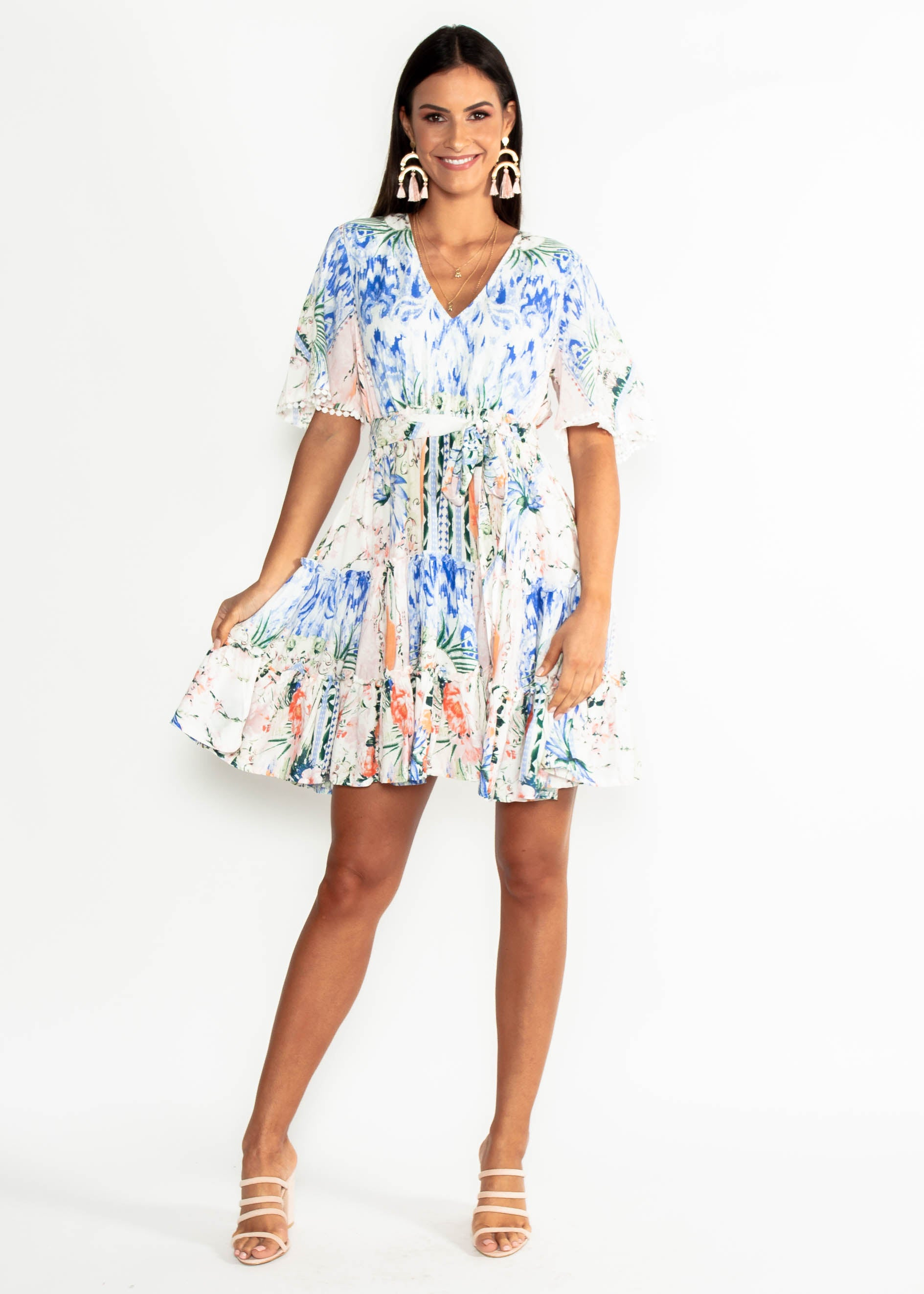 Daya Swing Dress - Caesar
