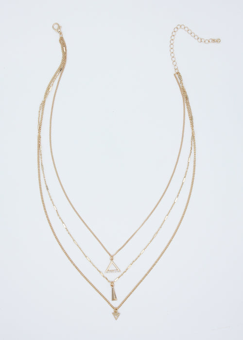 Grande Necklace - Gold
