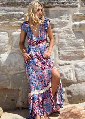 Carmen Maxi Dress - Caprioska
