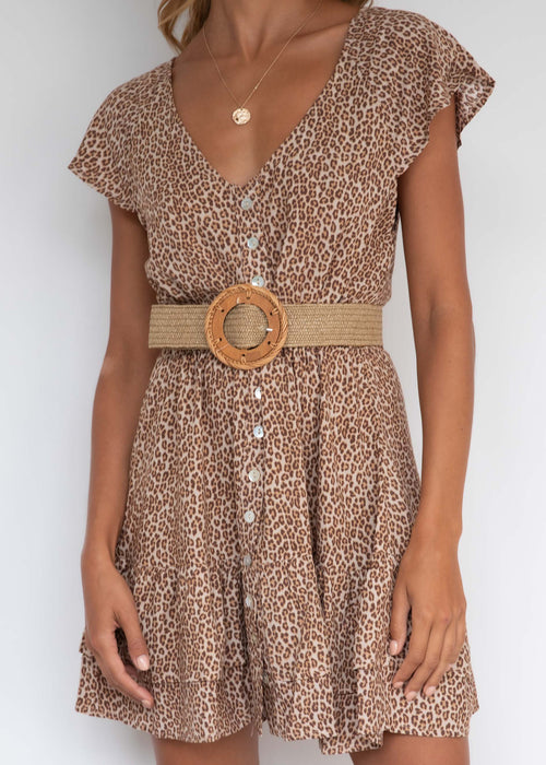 Little Dancer Dress - Leopard