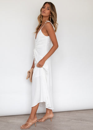 Jovanny Midi Dress - Off White