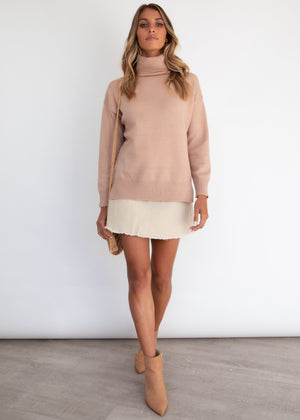 Show Me Love Sweater - Camel
