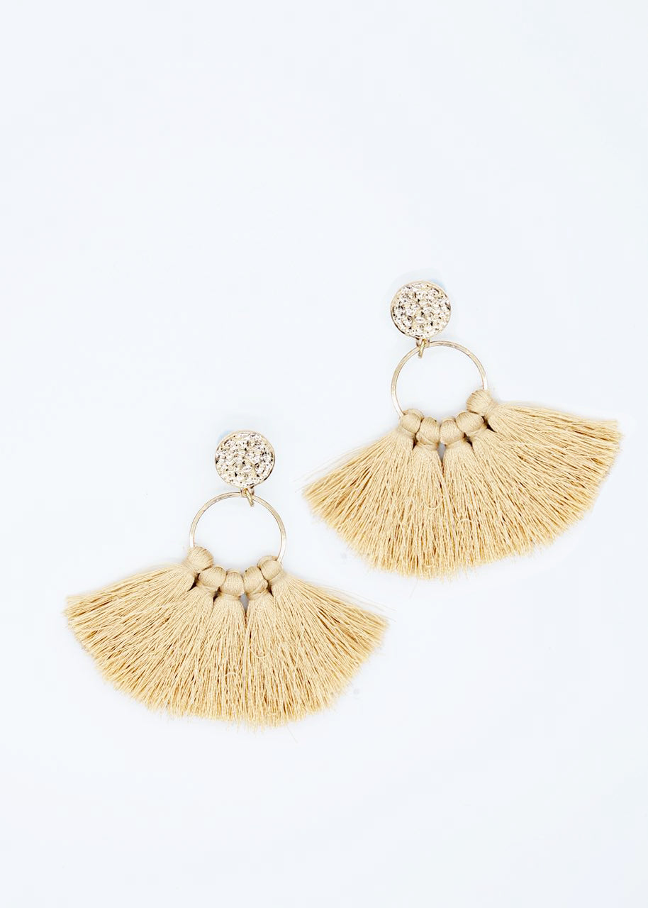 Hunter Earrings - Almond