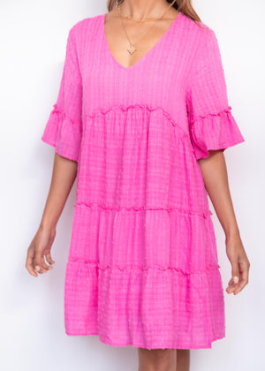 Lexico Smock - Pink