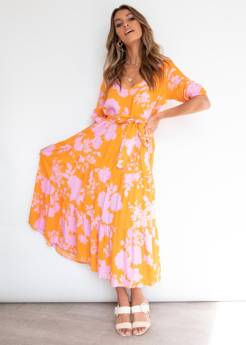 Last Sunset Maxi Dress - Angelica