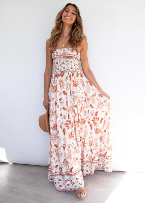 Claudia Maxi Dress - Autumn Floral