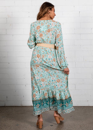 Rylee Maxi Dress - Emerald Floral