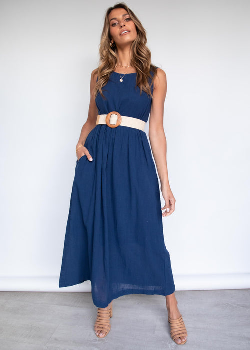 Vanessa Maxi Dress - Navy