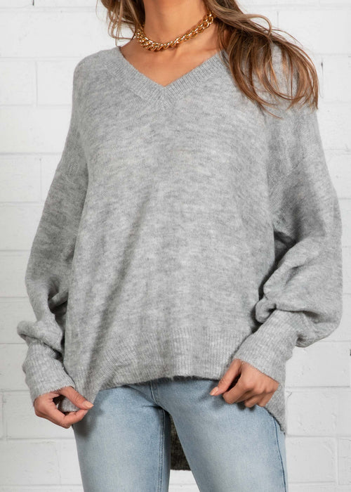 Jamarni Sweater - Grey