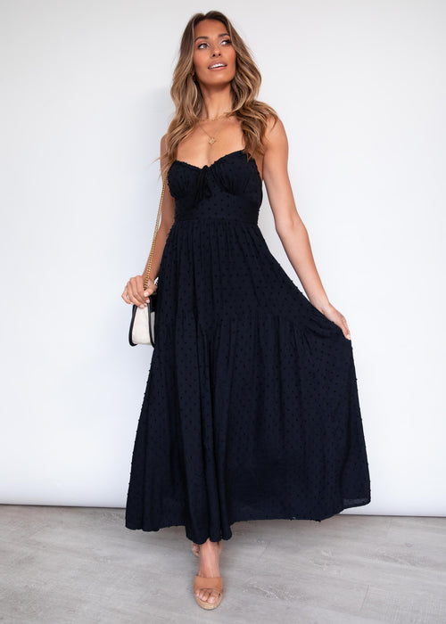 Whole Hearted Maxi Dress - Black