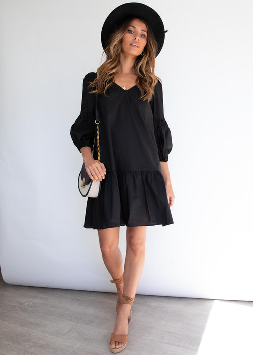 Anouk Dress - Black