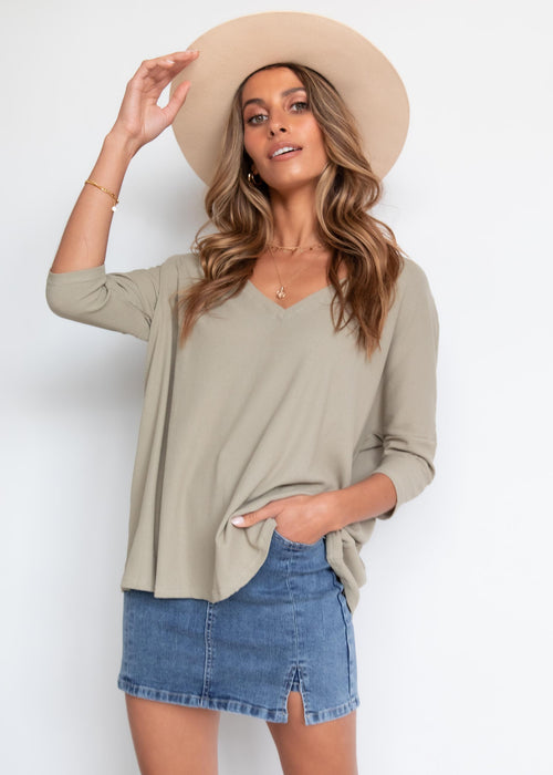 Willana Blouse - Olive