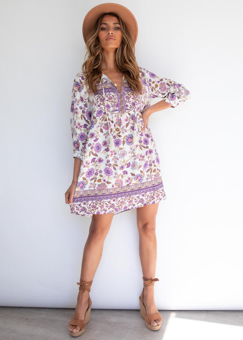 New Direction Dress - Amethyst